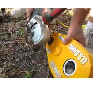 Embedded thumbnail for Насадка на болгарку для бурения бетона