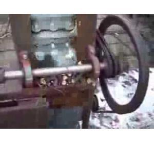 Embedded thumbnail for Машина для измельчения сучьев