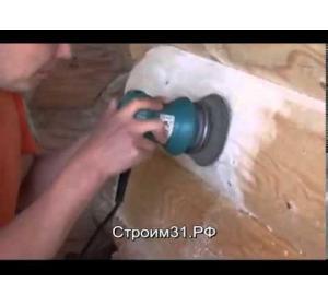Embedded thumbnail for Как шлифовать сруб